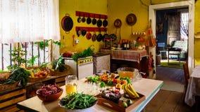 Owoc i warzywo przygotowywający dla bankieta Zdjęcie Royalty Free
