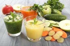 Owoc i warzywo smoothie Obrazy Royalty Free