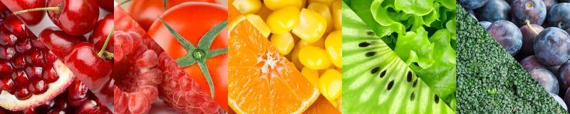 Owoc, jagody i warzywa, Obraz Royalty Free