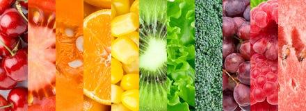 Owoc, jagody i warzywa, Obrazy Royalty Free