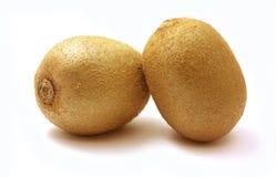 owoc kiwi dwa Obrazy Stock