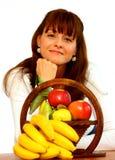 owoc kobieta obrazy stock