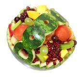 owoc koszykowy arbuz Obraz Stock