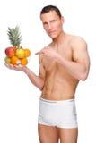 owoc mężczyzna Obraz Royalty Free