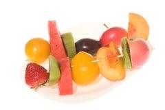 owoc matrycują plasterki obraz stock
