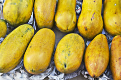 Owoc melonowiec Fotografia Royalty Free