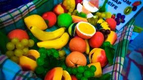 Owoc mydło fotografia stock