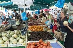Owoc na rynku Zdjęcia Stock