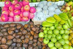 Owoc na rynku w Jawa Indonezja obraz stock