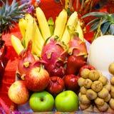 Owoc na stole Fotografia Stock