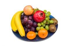 Owoc na talerzu Zdjęcia Stock