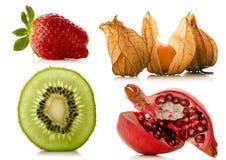 Owoc nad bielem Zdjęcia Stock