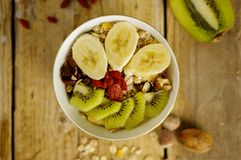 owoc oatmeal obrazy stock