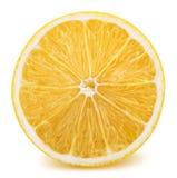 owoc odosobniony cytryny biel Zdjęcia Stock