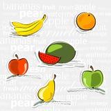 owoc po prostu majchery Ilustracja Wektor