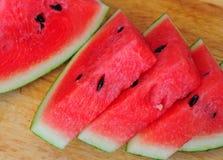 Owoc - Pokrojony arbuz Zdjęcia Royalty Free