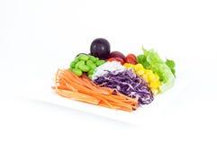 owoc sałatek warzywa Fotografia Royalty Free