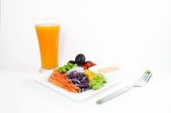 owoc sałatek warzywa Obrazy Stock
