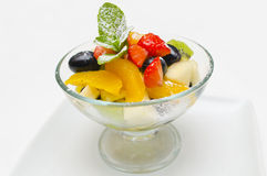 owoc sałatkowe Fotografia Stock