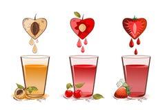 Owoc sok ilustracji