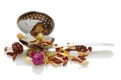 owoc spoon herbaty Fotografia Royalty Free