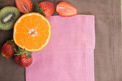 Owoc tło Fotografia Stock