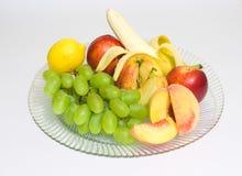 owoc talerz Zdjęcia Stock
