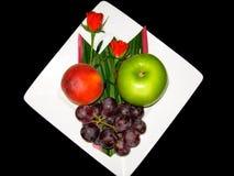 owoc talerz Obrazy Royalty Free