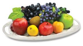 Owoc talerz Fotografia Stock