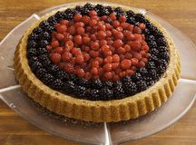 Owoc tort Obraz Stock