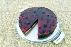 Owoc tort z jagodami Zdjęcia Stock