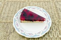 Owoc tort z jagodami Fotografia Royalty Free