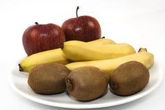 owoc umieszczający talerz Zdjęcie Royalty Free