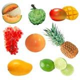 Owoc Ustawia (1) Fotografia Stock