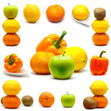 owoc ustawiać Fotografia Stock