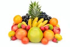 Owoc ustawiająca odizolowywającą na białym tle Zdjęcie Royalty Free