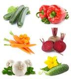 owoc ustawiają warzywa Zdjęcie Stock