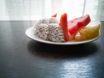 Owoc w naczyniu Obrazy Royalty Free