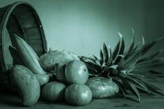 Owoc w zielonych brzmieniach Zdjęcia Royalty Free