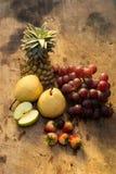owoc warzywa i jagody zdrowy tła jedzenie Obraz Royalty Free