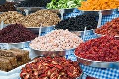 owoc wysuszony rynek Zdjęcie Stock