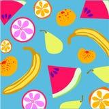 Owoc wzór Obraz Stock
