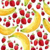 Owoc wzór Zdjęcia Stock