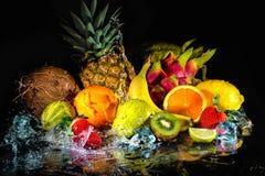 Owoc z wodnym pluśnięciem Obraz Stock