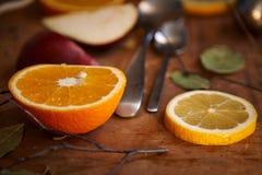 Owoc - zdrowe witaminy dla śniadania 3 Obraz Stock