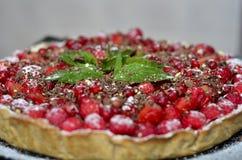 owoce żywności jagodowych pie malinowy sweet Obrazy Stock