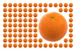 owoce żywności pomarańczowe Obrazy Royalty Free