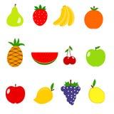 owoce ilustracyjne Zdjęcia Royalty Free