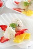 owoce kremowy lodu Zdjęcie Royalty Free