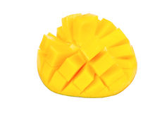owoce mango pokroić Zdjęcia Royalty Free